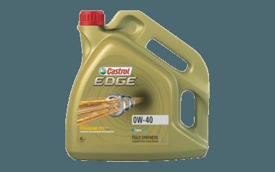 Oleje Castrol EDGE 0W40 400x250