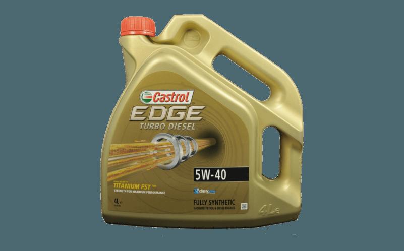 Oleje Castrol EDGE 5W40 TD