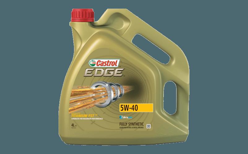 Oleje Castrol EDGE 5W40