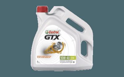 Oleje Castrol GTX 10W40 400x250