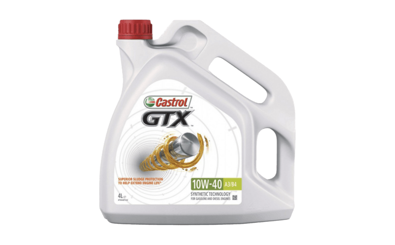 Oleje Castrol GTX 10W40
