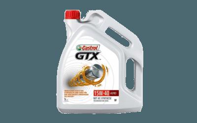 Oleje Castrol GTX 15W40 400x250