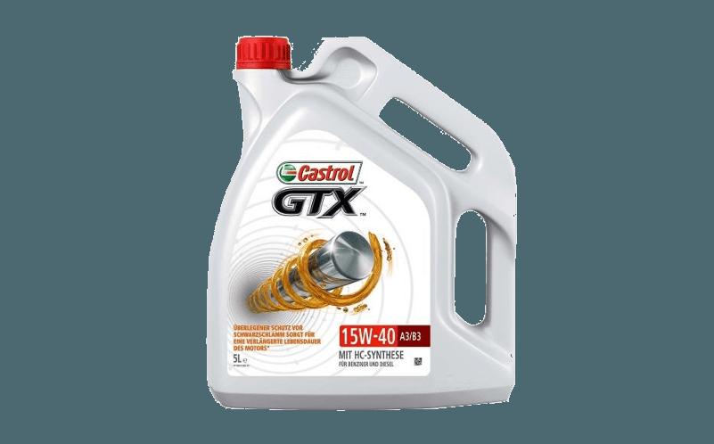 Oleje Castrol GTX 15W40